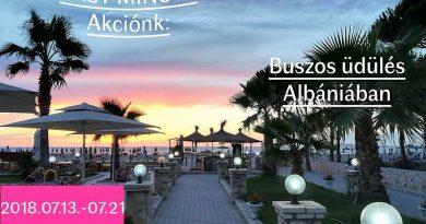 Last minute – tengerparti nyaralás Albániában
